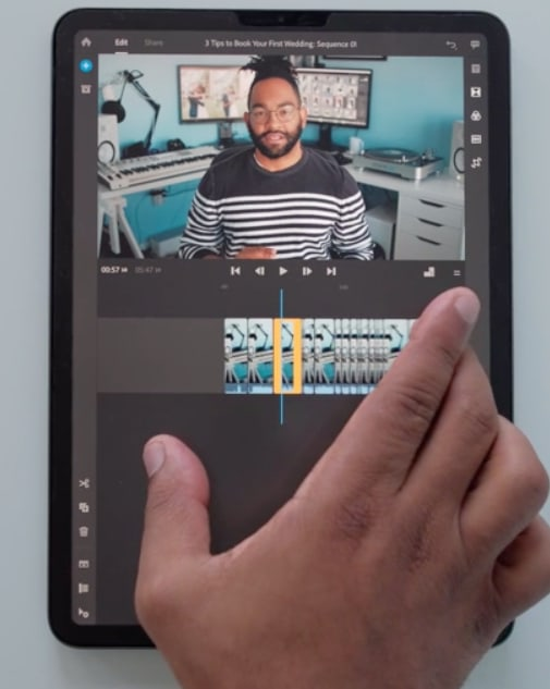 Adobe Rush for mobile video editing