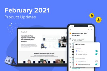 February 2021 HoneyBook Product Updates