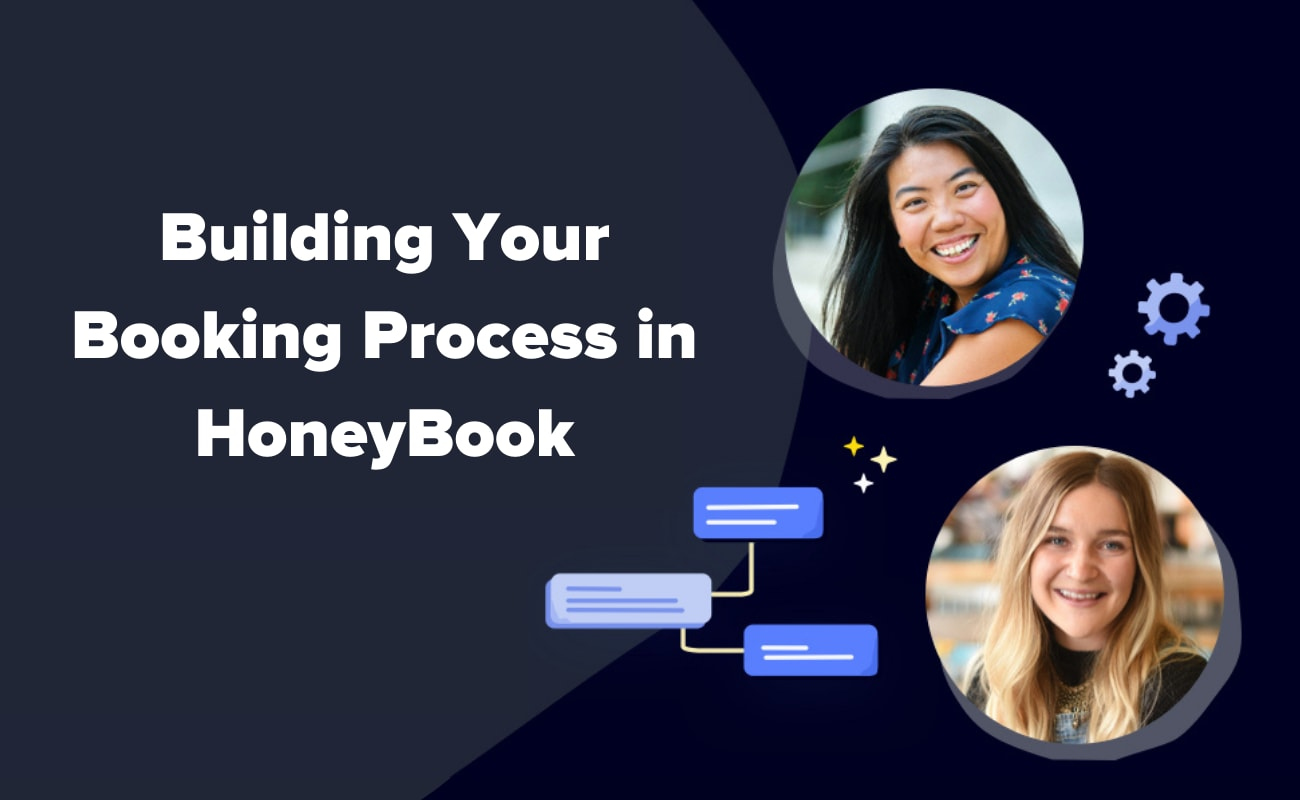 Building your booking process in honeybook
