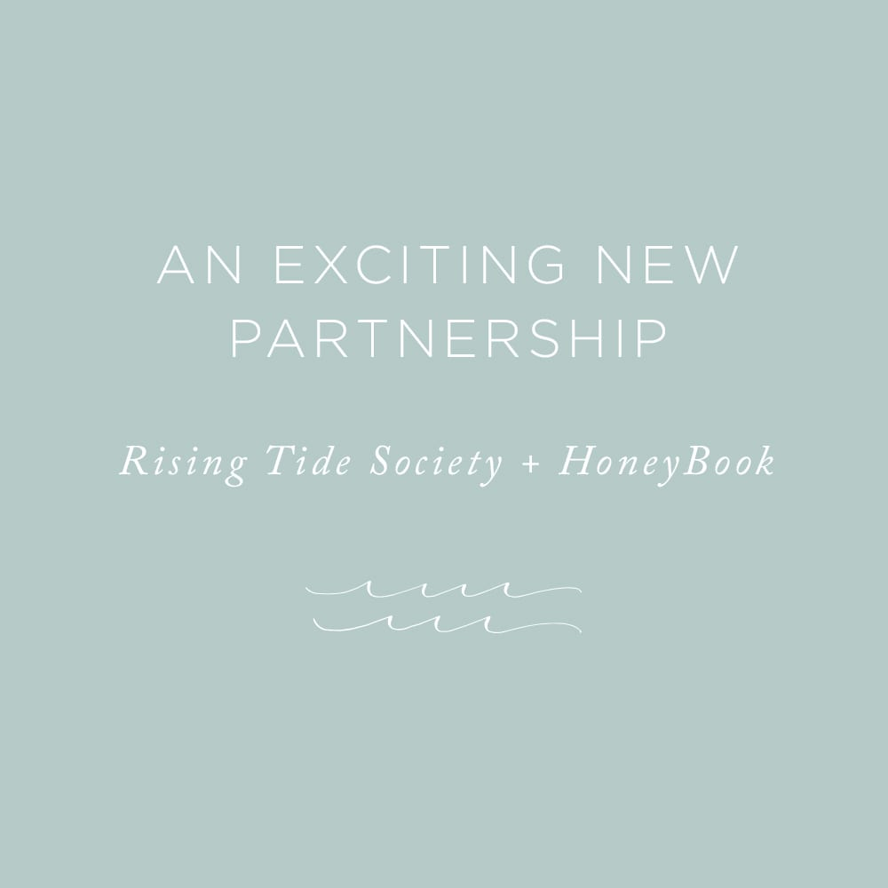 An Exciting New Partnership   via the Rising Tide Society