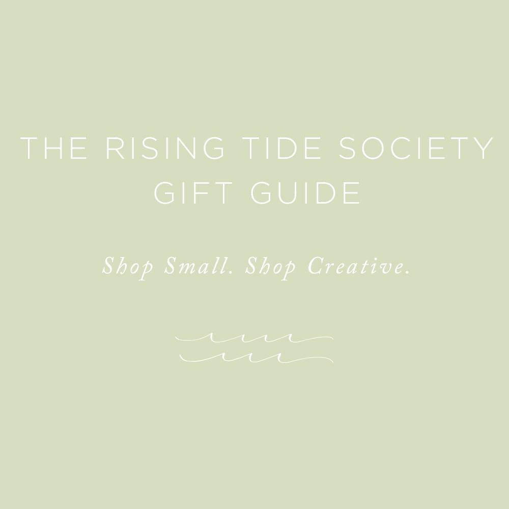 Rising Tide Society Gift Guide | via the Rising Tide Society