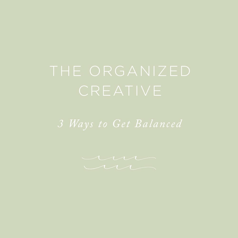 The Organized Creative | via the Rising Tide Society