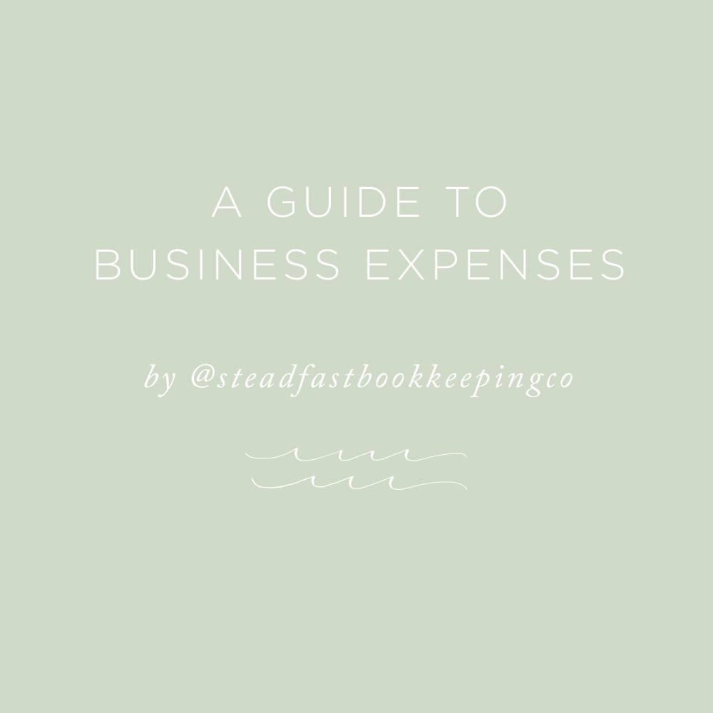A Guide to Business Expenses | via the Rising Tide Society
