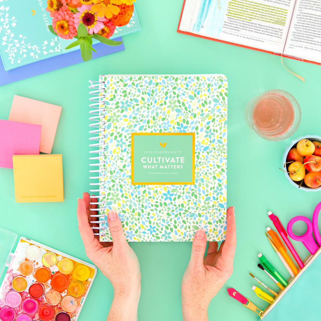 cultivate what matters planner