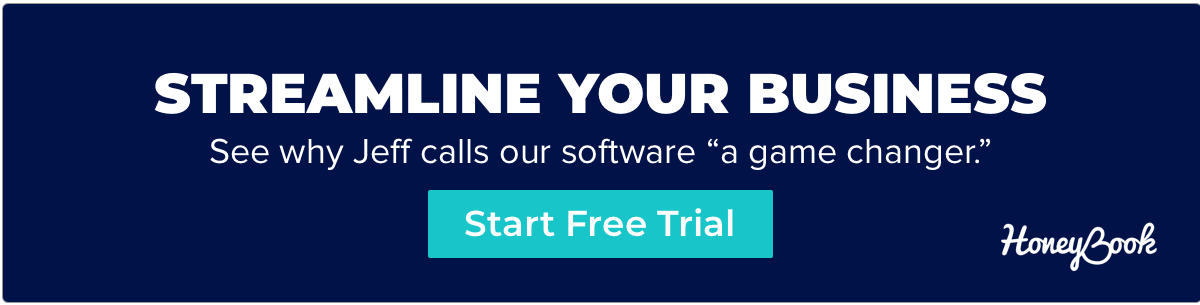 Streamline your business with HoneyBook - start free trial