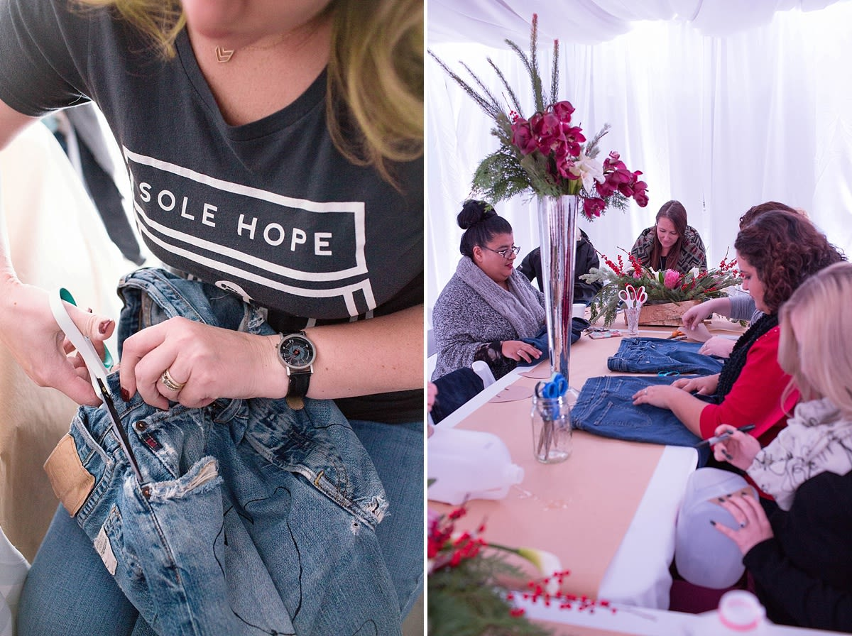 Philanthropy 2015: Monterery made 27 pairs of shoes for Sole Hope. Photos by Laura Hernandez Photography.