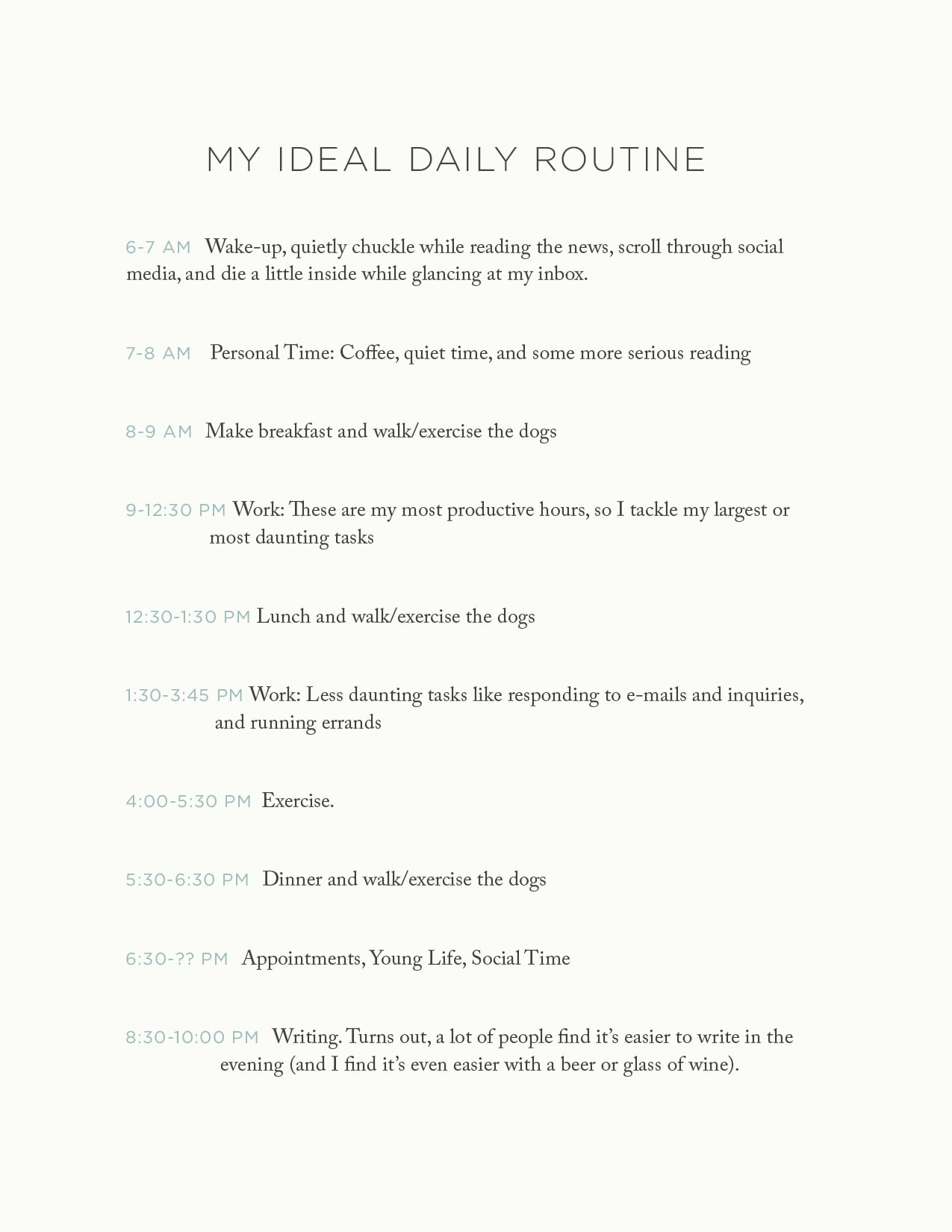 Plan your ideal workday with Davey from the Rising Tide Society
