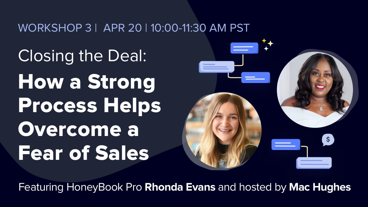 How a Strong Process Helps Overcome A Fear of Sales