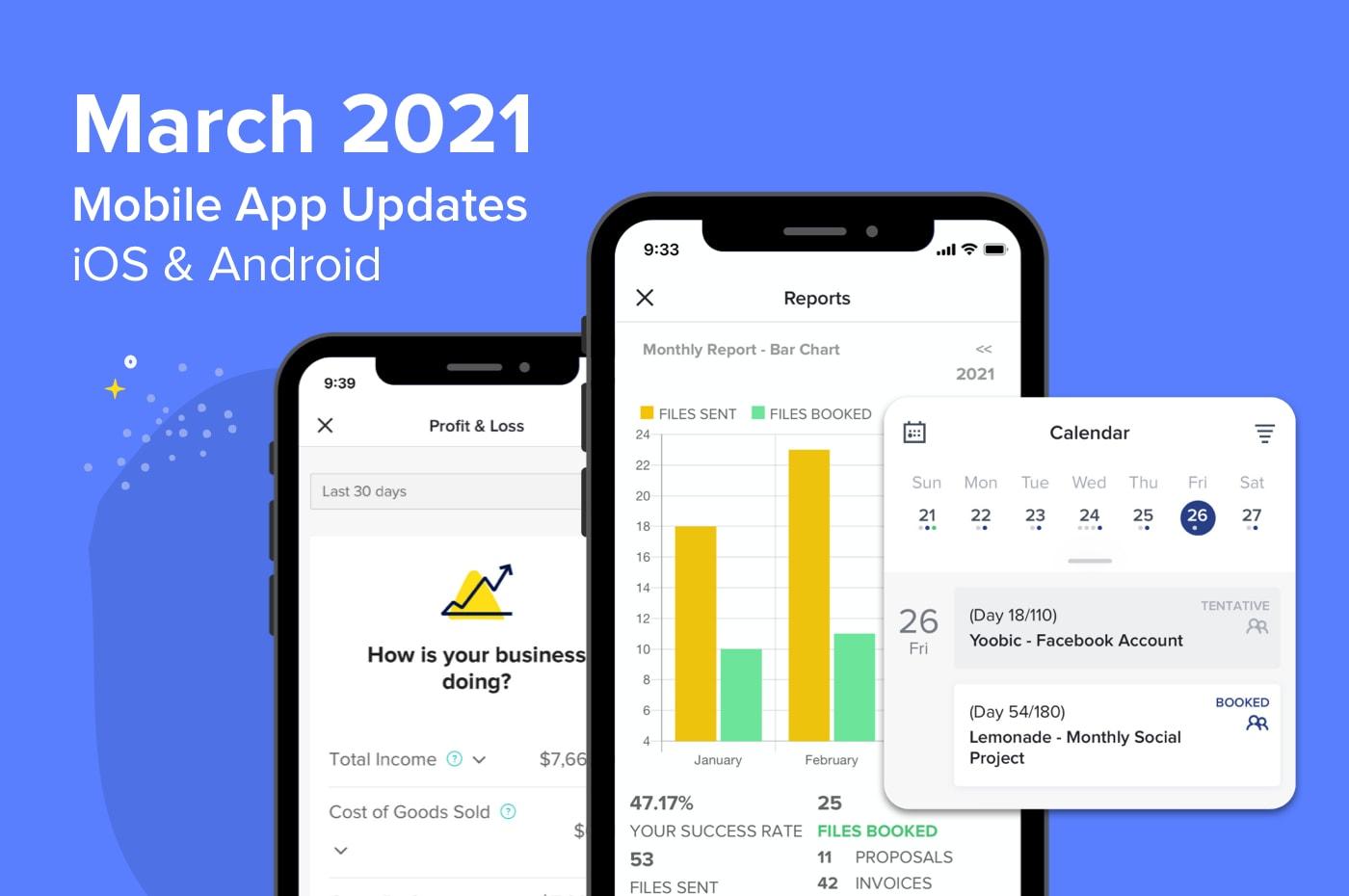 HoneyBook Mobile App 2021