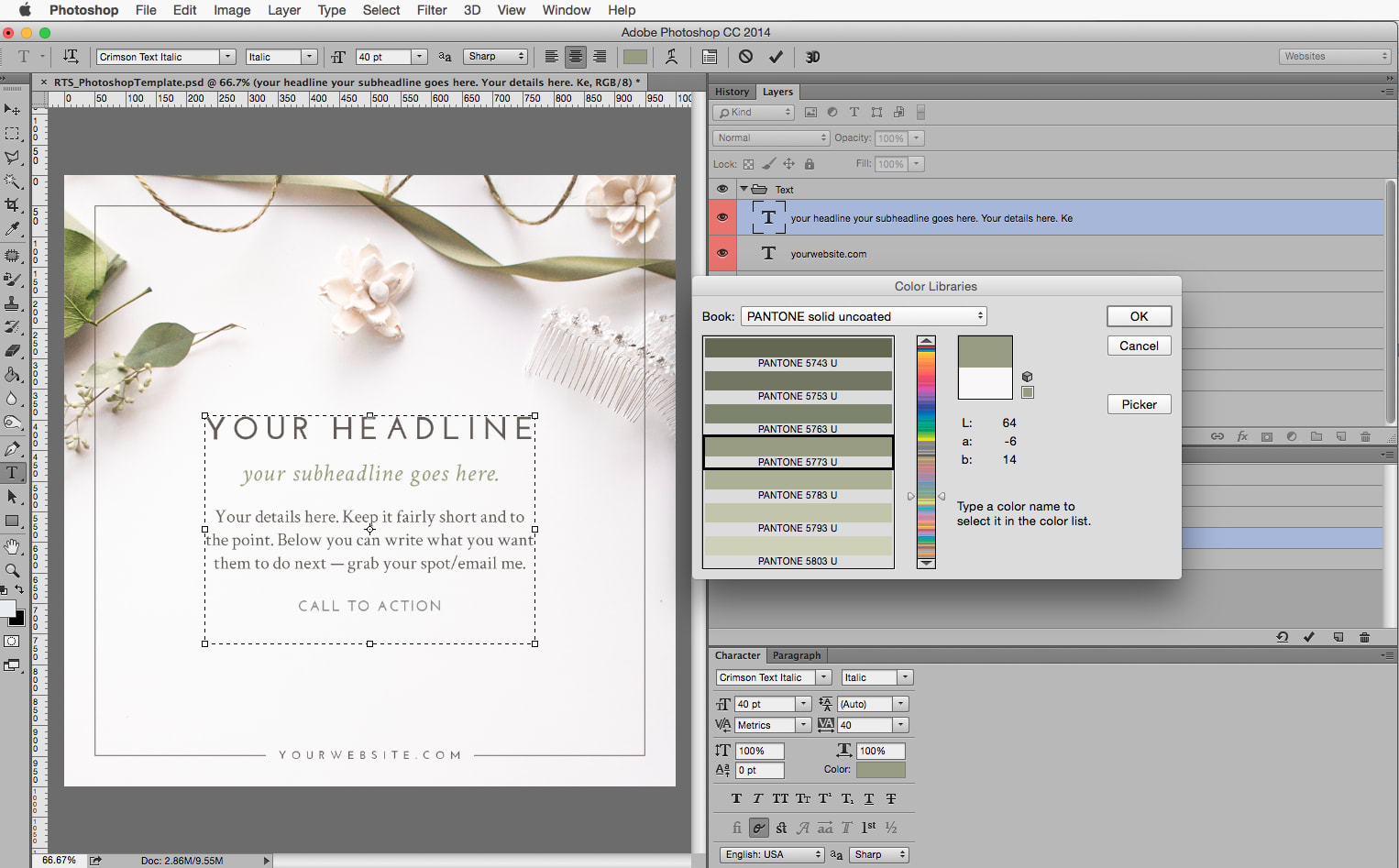 Three Steps to Branding Your Social Media Announcement Images | Kathryn Duckett of Creme Brands for the Rising Tide Society