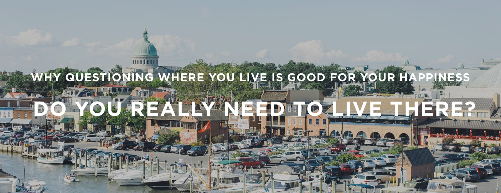 Do you really need to live there? | via the Rising Tide Society