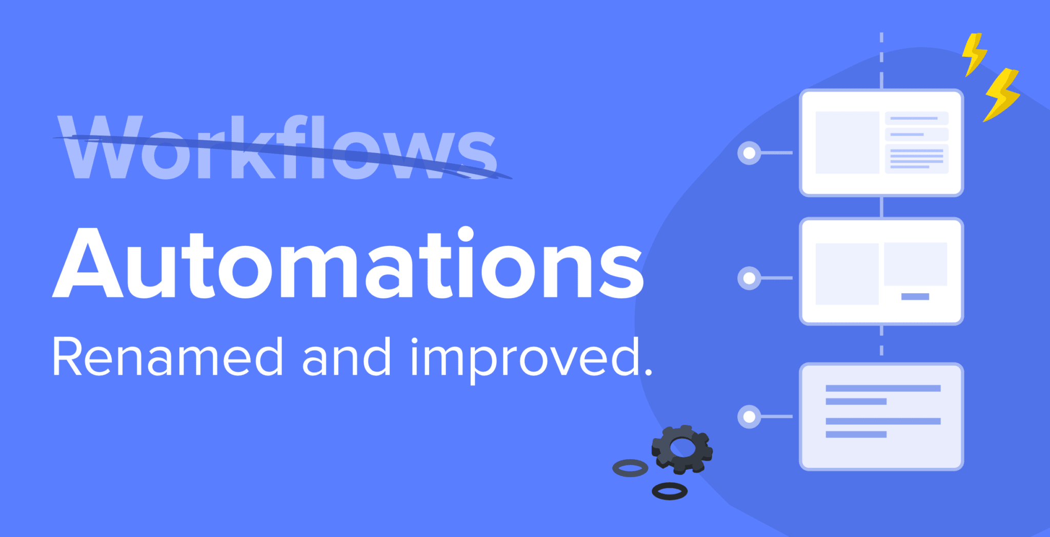 Automations renamed and improved