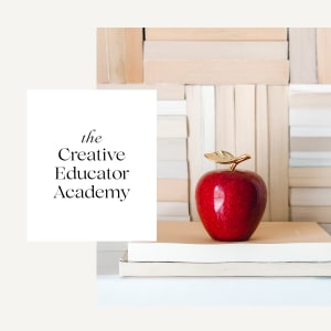 Click to shop The Creative Educator Academy