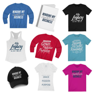 Click to shop Living Well-Rounded Merch Boutique
