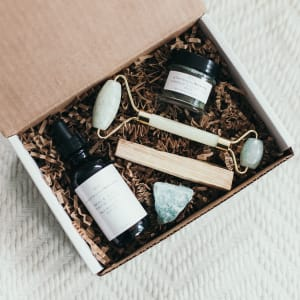 Click to shop Plant Based Beauty
