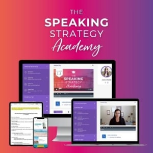 Click to shop The Public Speaking Strategist