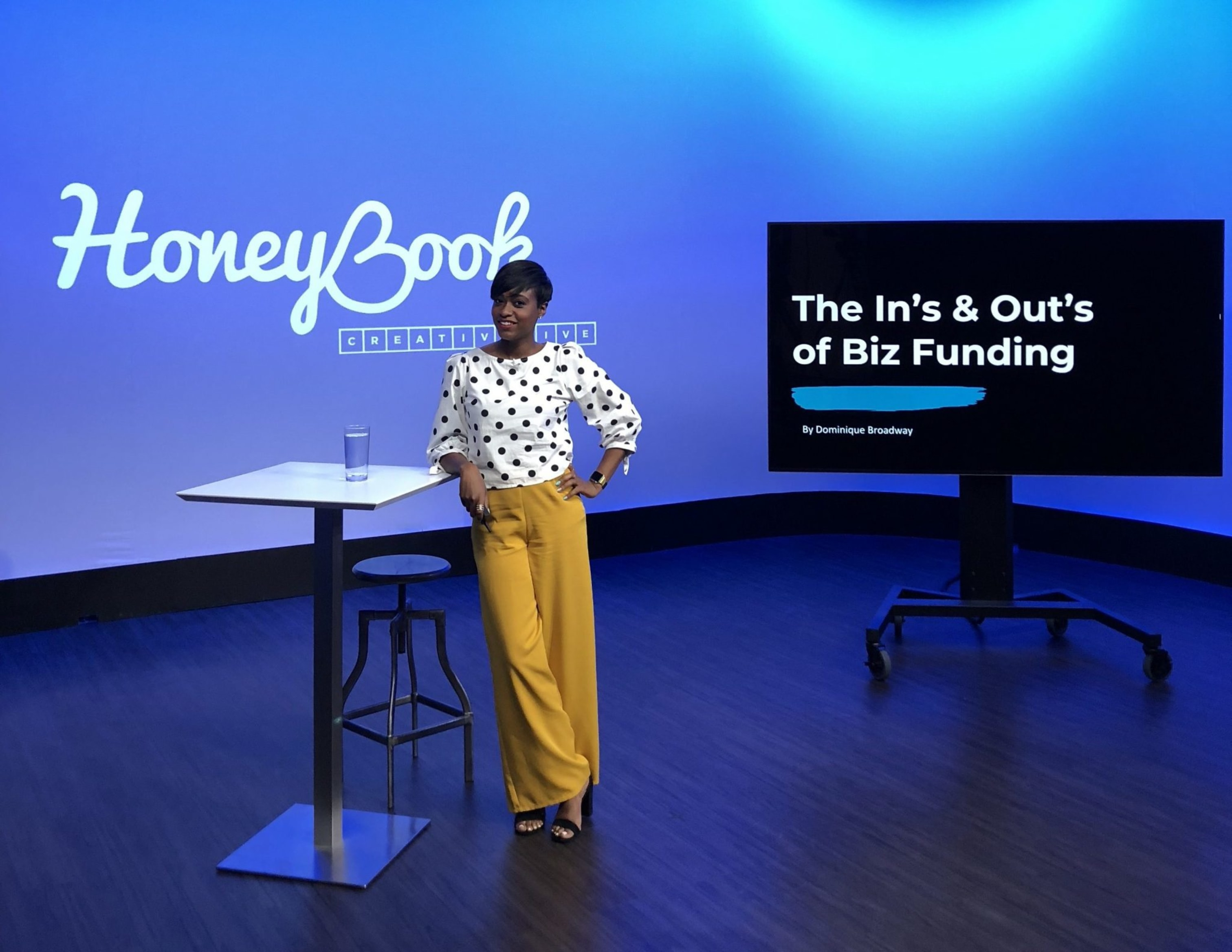 Take Control of Your Business Finances Class with Dominique Broadway