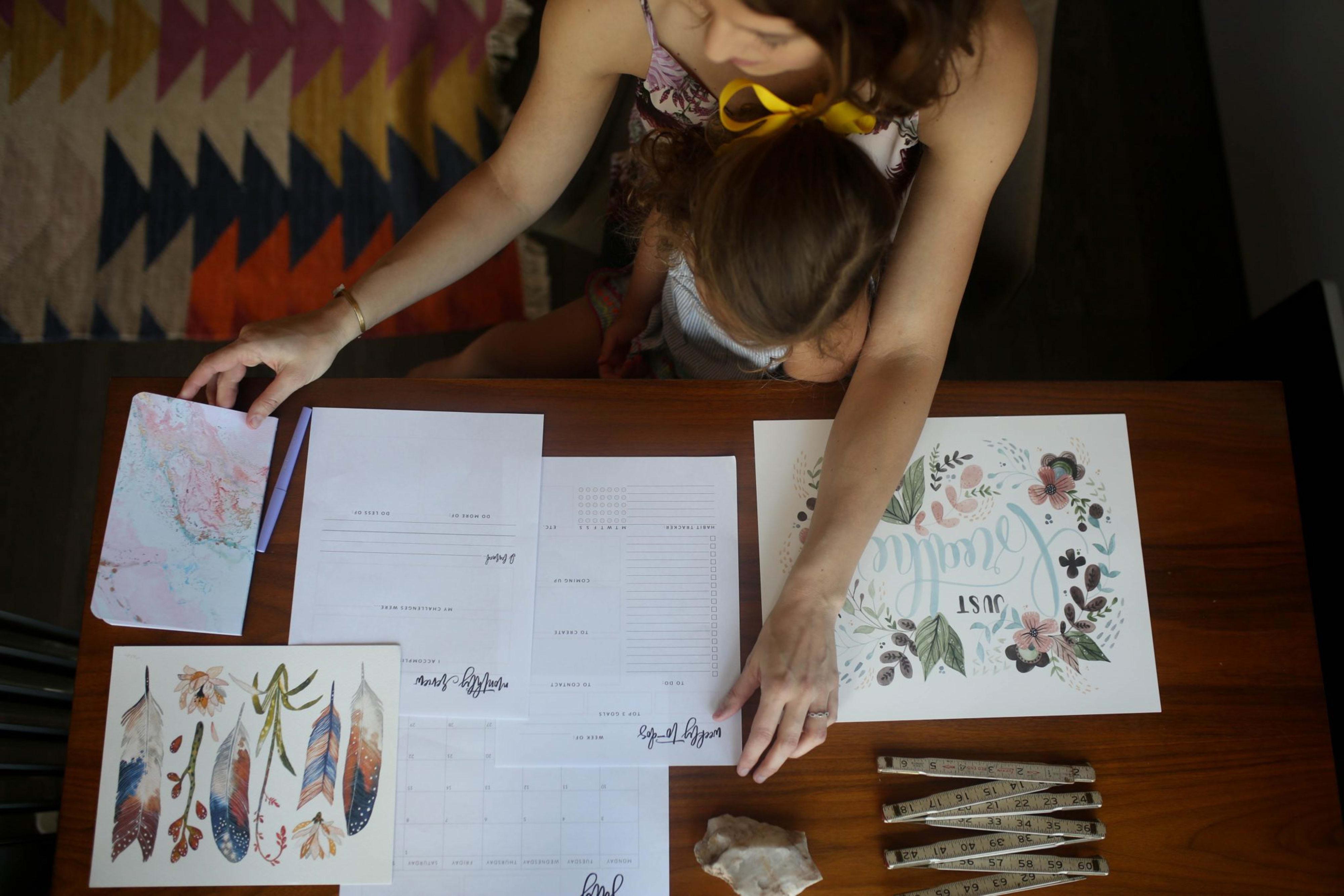 How I Created my dream job by Emily Strom of Handmade Loves