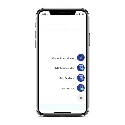 honeybook mobile app