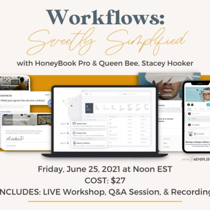 Our YouTube ChannelRewatch the HoneyBook   Rising Tide Webinars