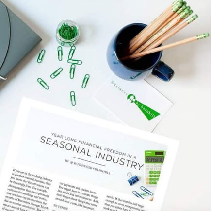 Finding Financial Freedom in a Seasonal Industry | via the Rising Tide Society