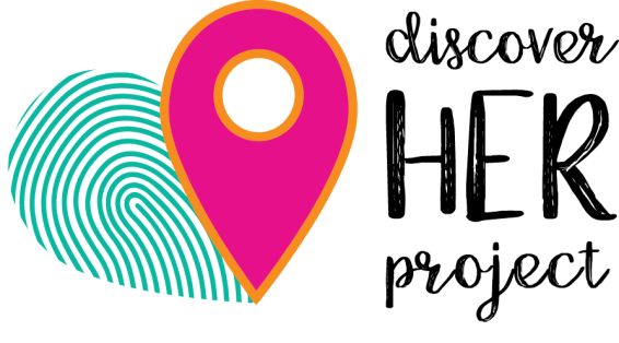 Logo for Discover Her Project on the Rising Tide Society and HoneyBook blog