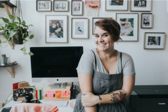 Photographer, Amy Hanen talks about re-thinking risk in entrepreneurship.