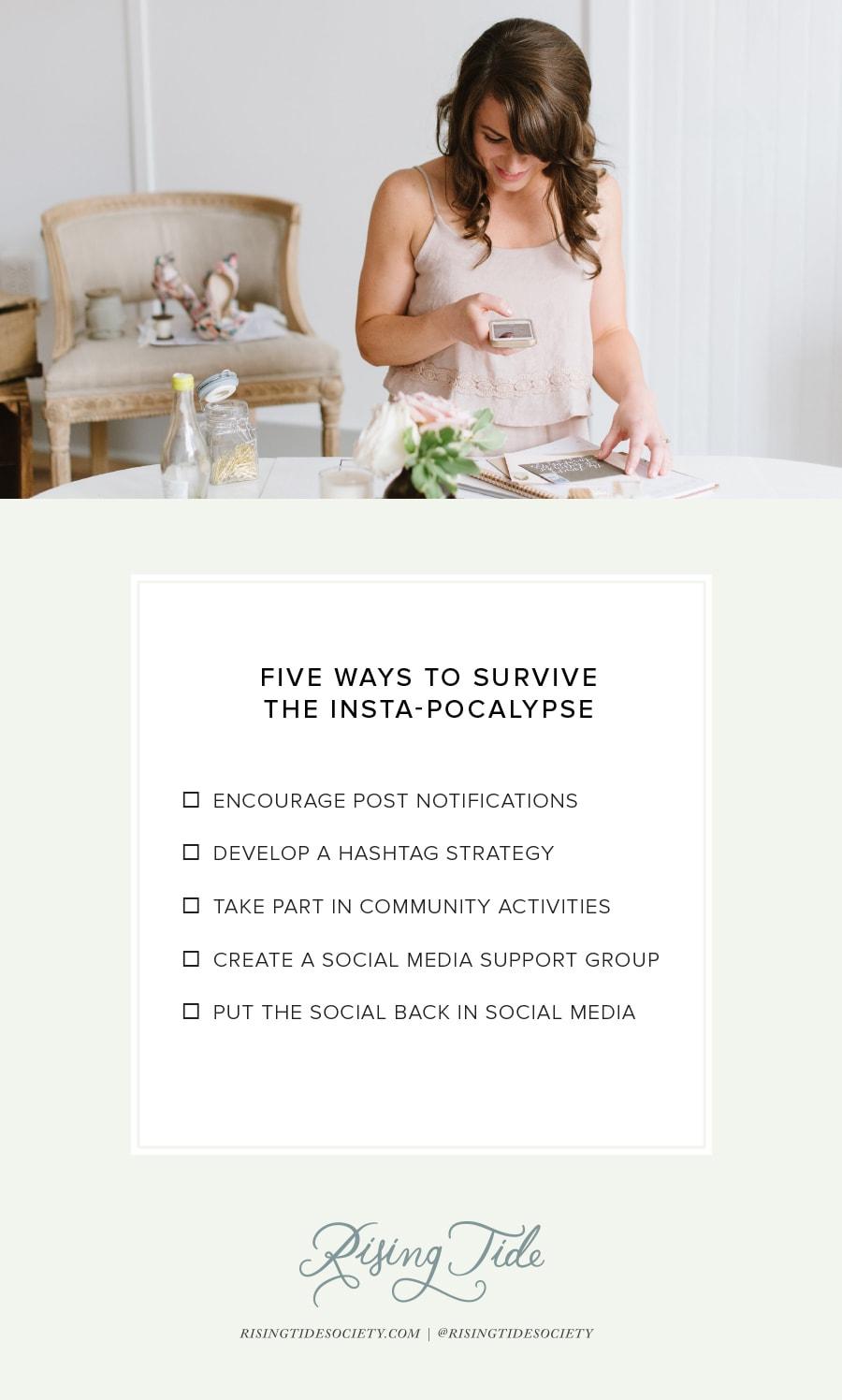 Overcoming Instagram's New Algorithm for Entrepreneurs with the Rising Tide Society