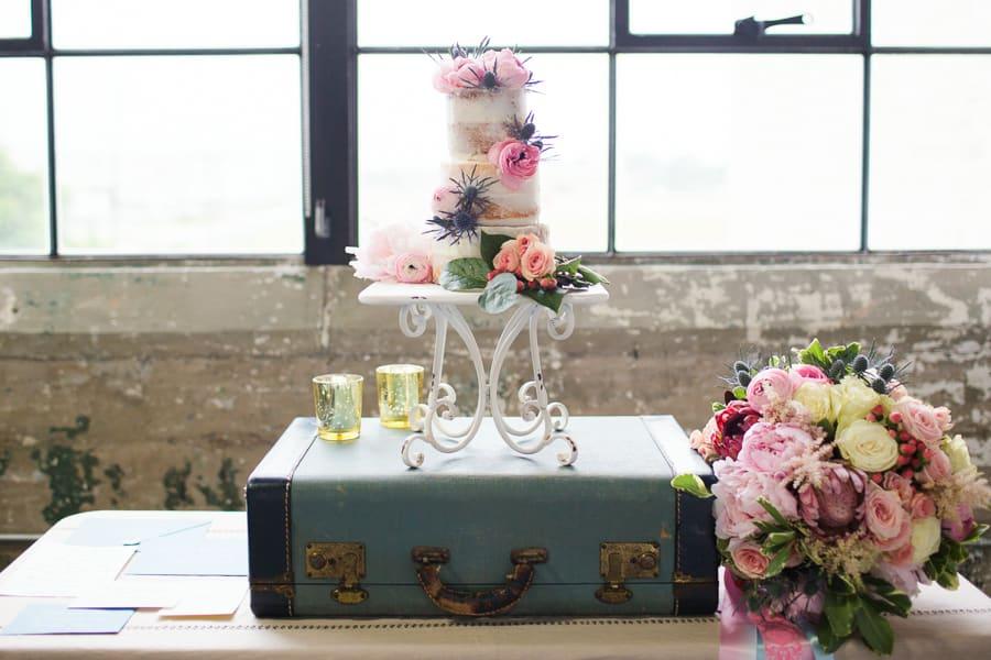 Houston Tuesdays Together (Rising Tide Society) Pantone Colors, Styled Shoot, Colorful Wedding Cake