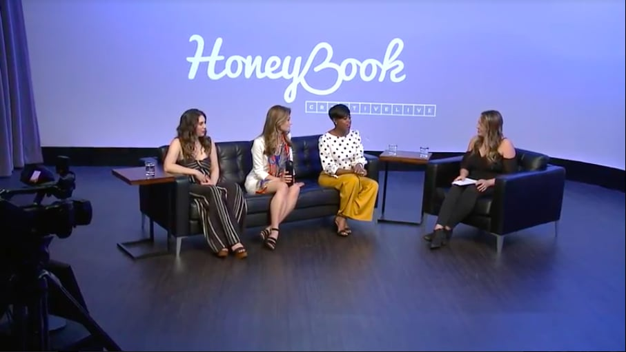 HoneyBook's Business Fundamentals for Creative Entrepreneurs Panel