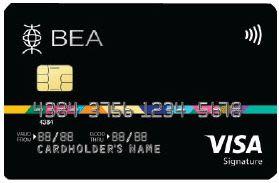 東亞Visa Signature卡