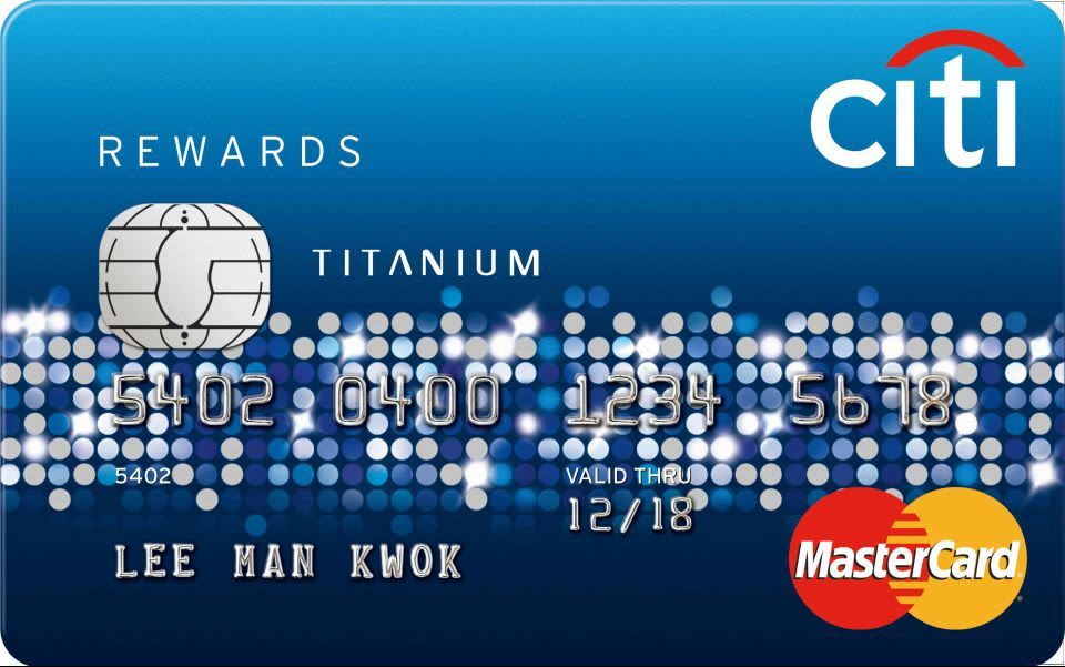 Citi Rewards Titanium萬事達卡