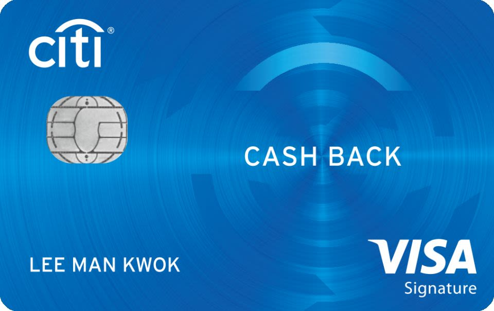 Citi Cash Back Visa信用卡