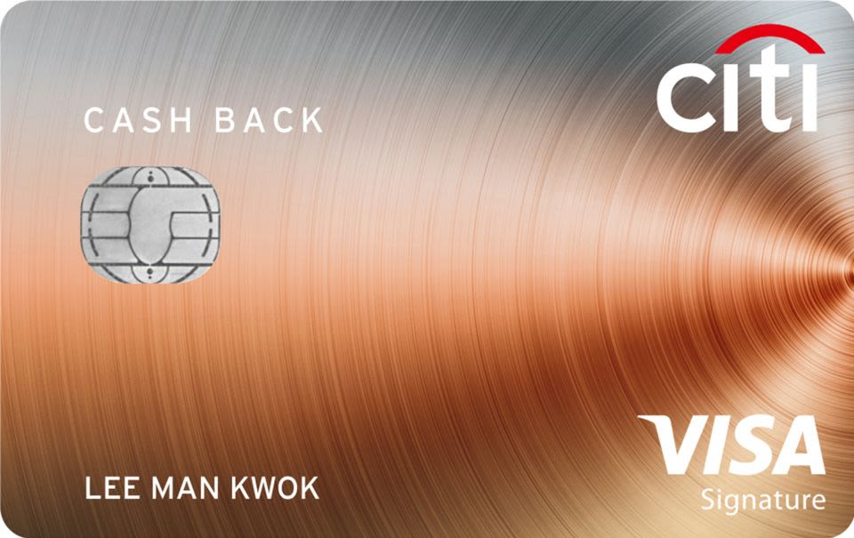 Citi Cash Back Visa卡