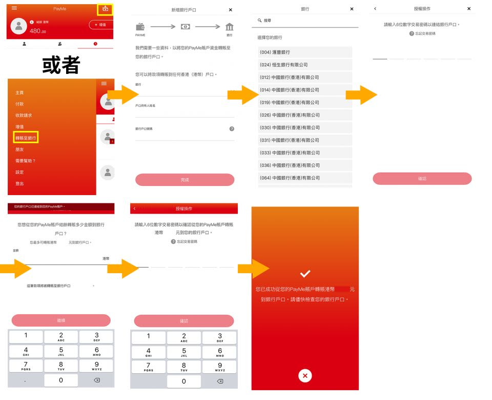 PayMe 信用卡 提款