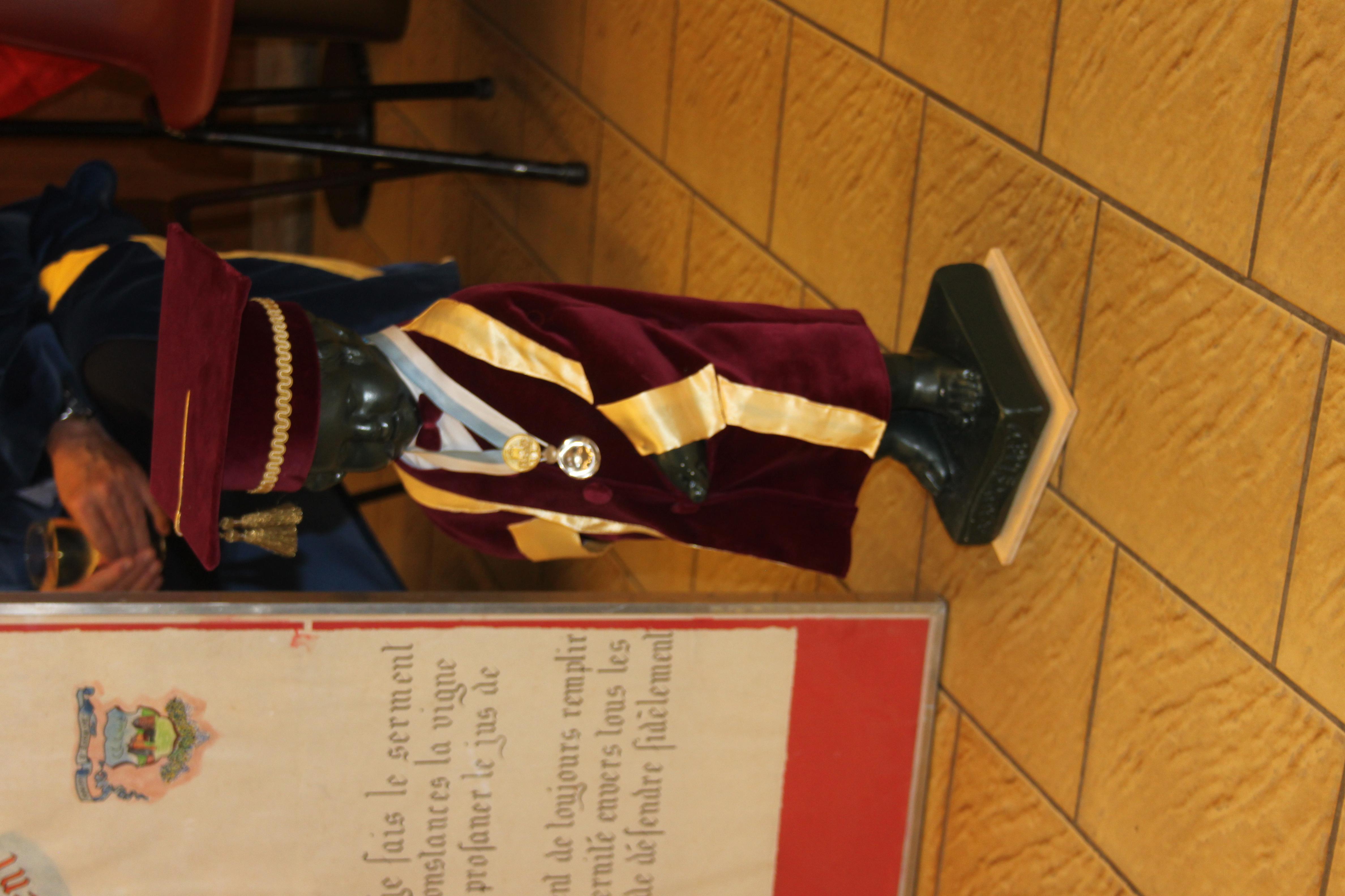 Mascotte Ordre de St-Vincent