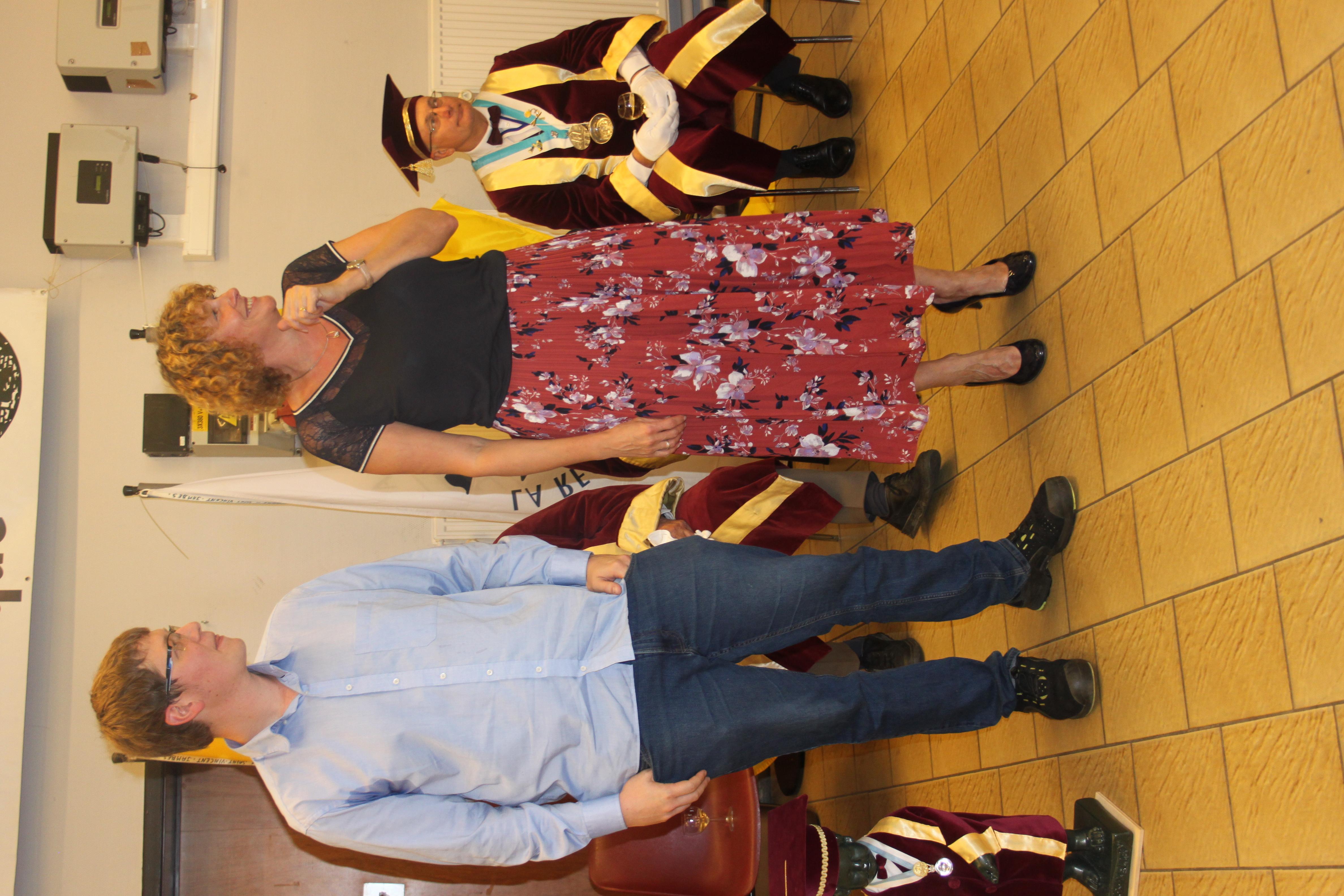 Felicitations (5): Nathalie et ...