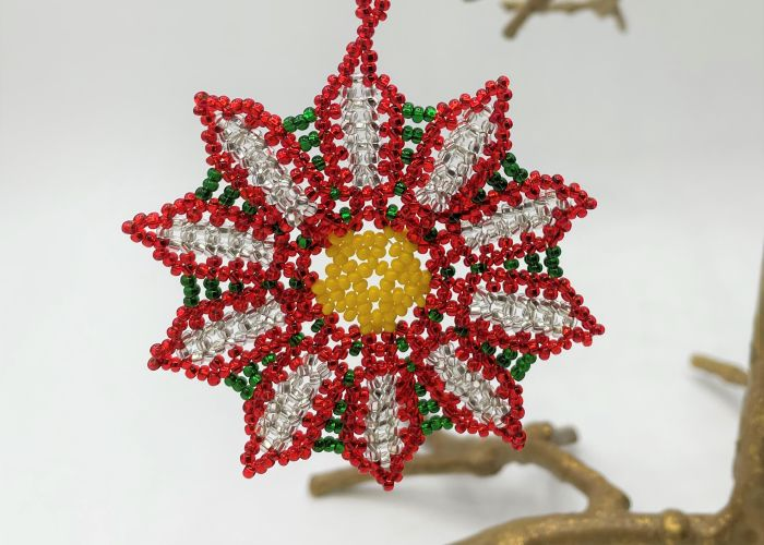 picture of Poinsettia Ornament