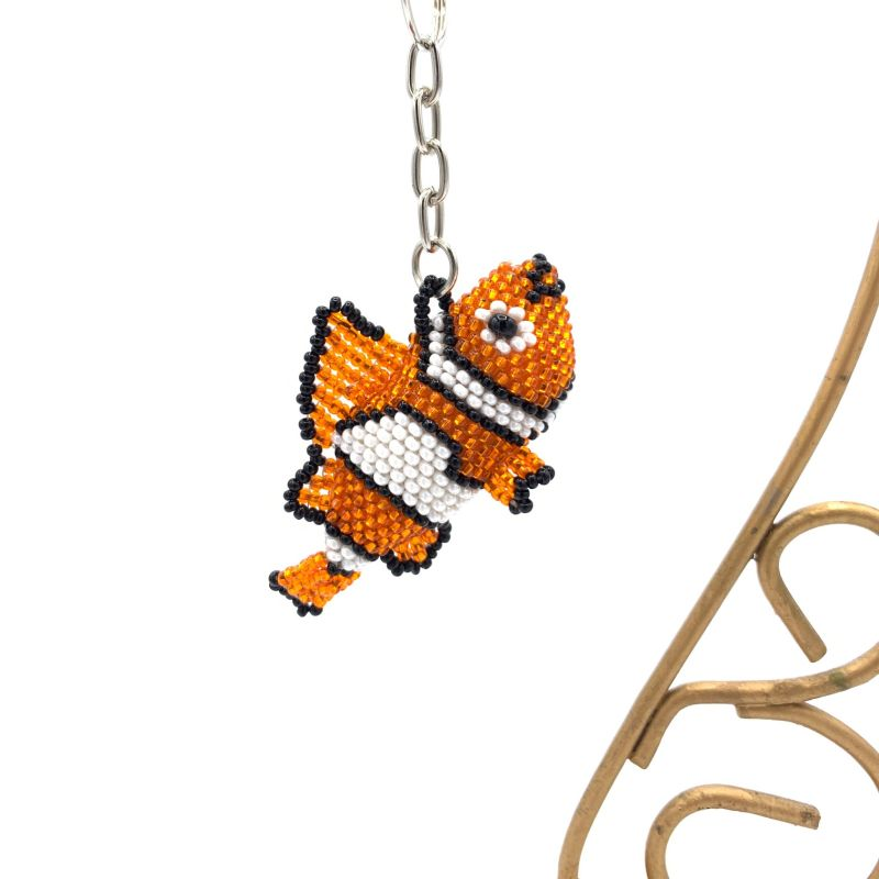 picture of Clown Fish Keychain