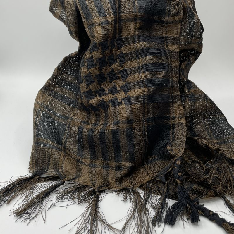 picture of Brown and Black Neck Scarf