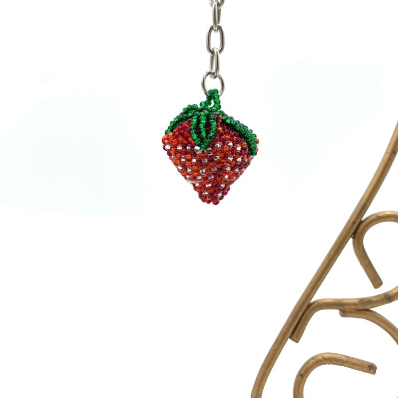 picture of Strawberry Keychain