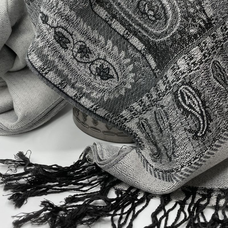 picture of Gray Pashmina Scarf
