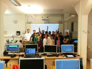 Projektwoche mit Ableton Live und Push an der Brecht Schule in Hamburg