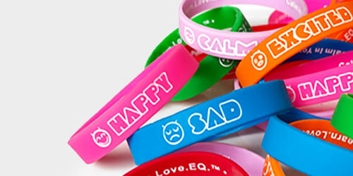 emotion vocabulary wristbands EI
