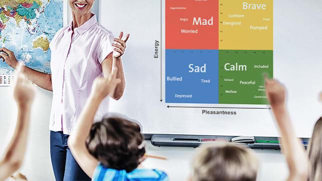 teaching toddler emotions mood meter