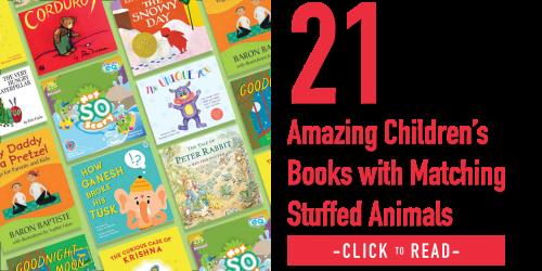 children's books with stuffed animals