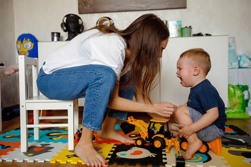 tamper tantrum playtime self-regulation