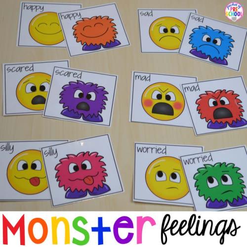monster feelings emotional intelligence game