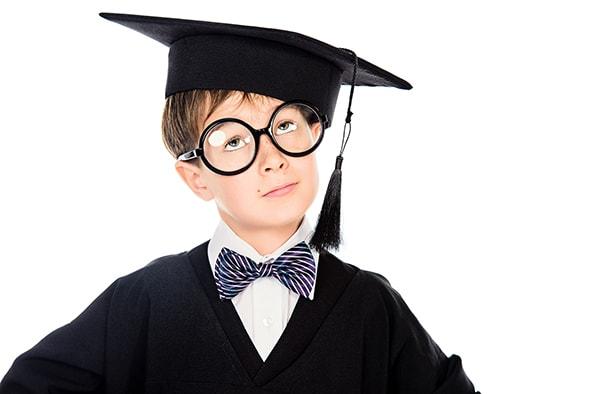 benefits of SEL little boy graduation cap