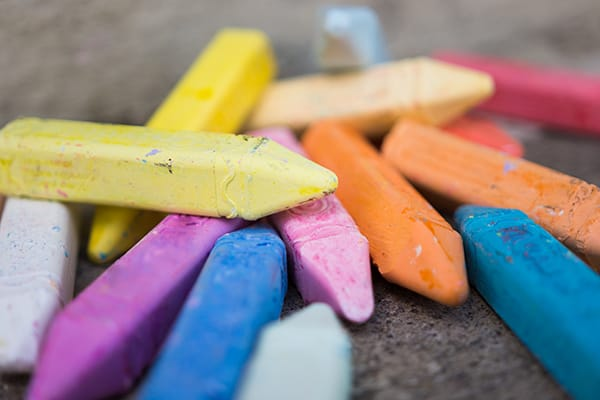 team building chalk activity